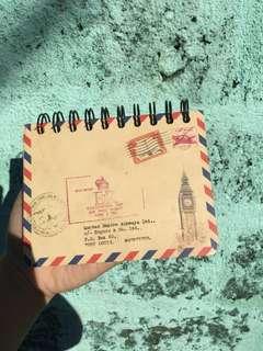 Big Ben travel notebook