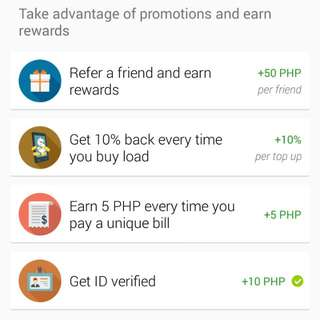 EARN Unlimited Php 50 in just 3 easy steps!