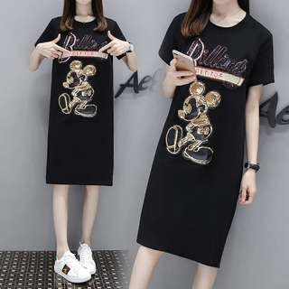 PO Glitter Sequin M-4XL Dress