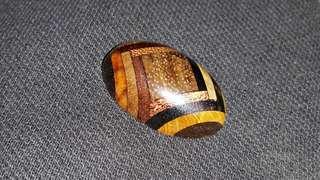 Permata campuran 17 jenis bahan teras kayu istimewa.