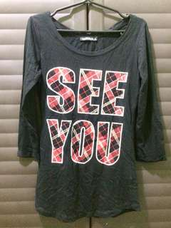 """""""See You"""" Top"""