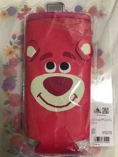 Disney store lotso 水樽袋