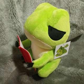 #一百元好物 「夾娃娃機品」(旅蛙 在家看書款)