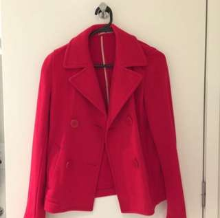 Uniqlo Red Jacket