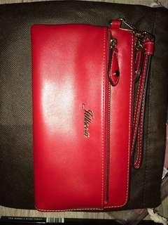 Jillscott wallet red 銀包 手提包