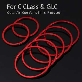 Mercedes GLA, GLC, C, New E class W213 Air-Con Vent trims set