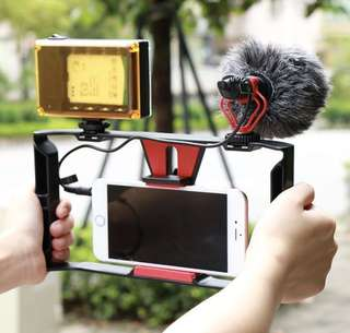 Smartphone /iphone/Samsung Video Rig for Youtube Vbloggers