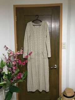 Chunky Long Knit Dress