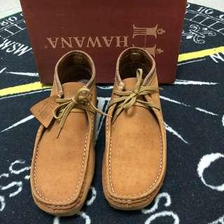🚚 HAWAN袋鼠鞋/麂皮/棕色/42