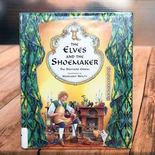 [Rare Book] The Elves and the Shoemaker - Brothers Grimm