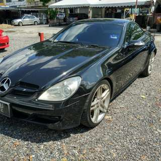 Mercedes Benz SLK200 (A)  Sambung Bayar / Car Continue Loan