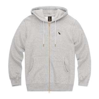 OVO October's Very Own Zip-up Hoody Grey (Small)