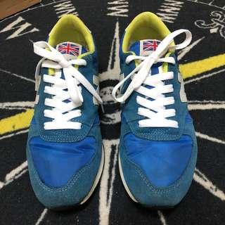 🚚 New Star復古慢跑休閒鞋/藍灰/US9.5