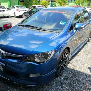 Honda Civic FD 2.0 (A)  Ori Mugen Spec Sambung Bayar / Car Continue Loan