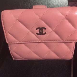 Chanel pink wallet (Authentic)