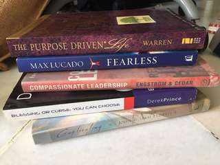 Books for sale (New and read)
