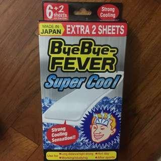 Bye bye fever brand new 6+2 sheets
