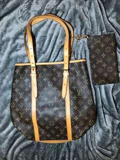 Authentic LV Bucket GM Bag