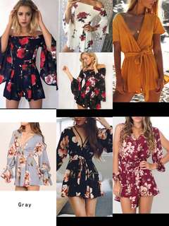 Po | blogshop inspired Playsuits / rompers