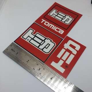 Sticker : Tomica