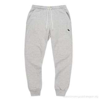 OVO October's Very Own Owl Patch Sweatpants Grey (Medium)