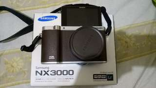 MIRROLESS SAMSUNG NX3000(INCLUDE WITH FREE SOFTWARE ADOBE PHOTOSHOP LIGHTROOM)