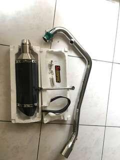 仿蠍管+前段(排氣管)