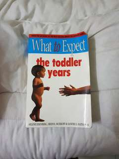 What to Expect the Toddler Years / baby book