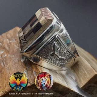 Customised Customer's Ring (925 Silver by Suffice.A.R.K.@Carousell)