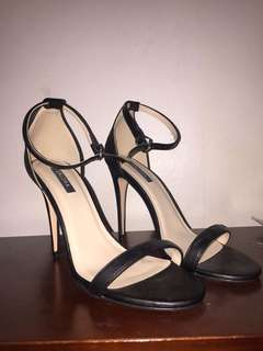 Classic Ankle Strap Heels Zalora