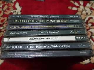Black Metal Cds