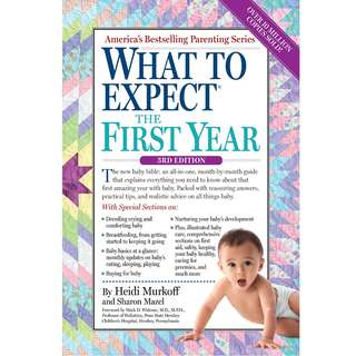 What to Expect the First Year by Heidi Murkoff, Sharon Mazel - EBOOK