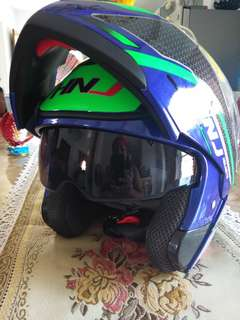 BNEW HNJ Modular Dual Visor Full Face Motorcycle Helmet