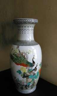 瓷器花瓶 fine porcelain vase 46cm(H)