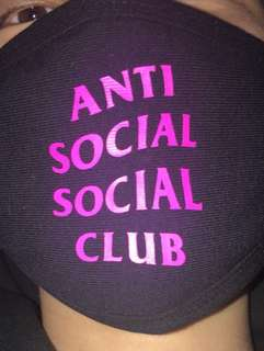 Anti Social Social Club Mask
