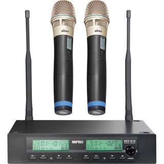 MIPRO ACT312 Dual Wireless System