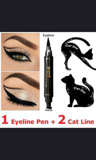 Cat eye Stamp Waterproof Eyeliner