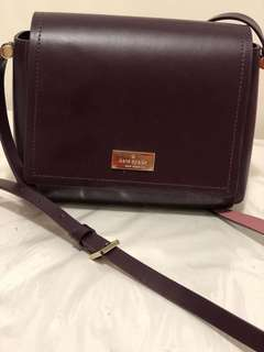 KATE SPADE burgundy cross body