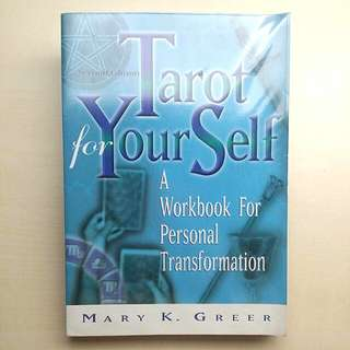 [LARGE DISCOUNT] Tarot For Yourself BY MARY GREER, Workbook For Personal Transformation 2nd Edition, Highly Acclaimed Tarot Book, Learn To Read Tarot