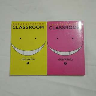 Assassination Classroom Manga Series