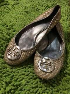 Tory burch flat shoes size 38