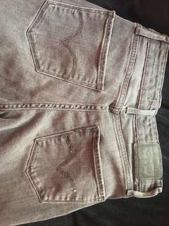 Gray Levi's Jeans Size 24
