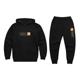 OVO October's Very Own x Jordan Hoody & Sweatpants Black (Medium)