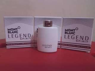 Miniature perfume mont blanc