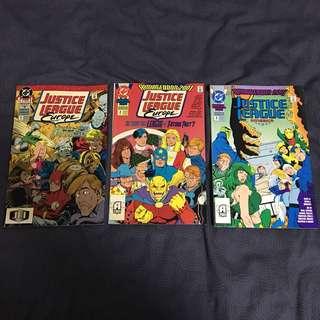 Marvel Comics Justice League Europe
