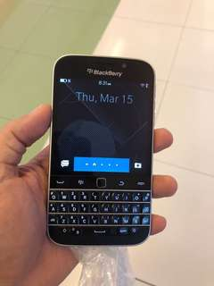 For sale blackberry classic / Q20