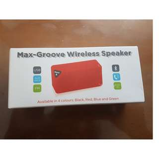 Max Groove Wireless Speaker