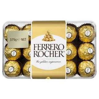 Ferrero Rocher 30Pieces 375g