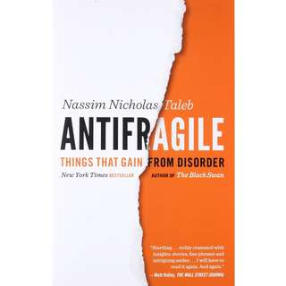 Antifragile: Things That Gain from Disorder by Nassim Nicholas Taleb - EBOOK