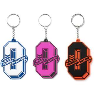 OVO October's Very Own Varsity Rubber Keychain